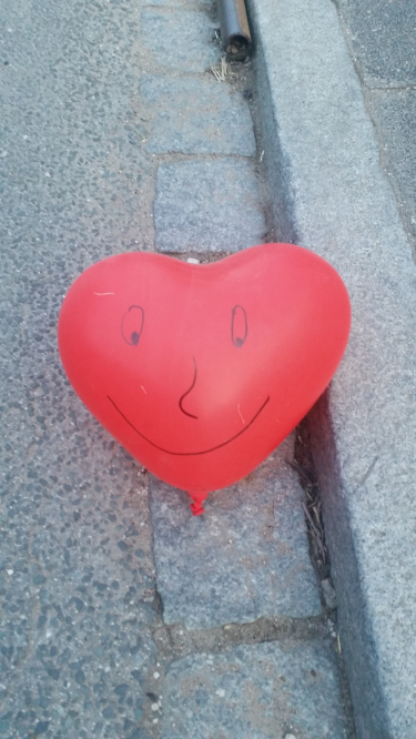 Lachendes Herz